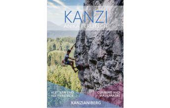 Klettersteigführer Kanzi - Kletter- und Klettersteigführer Kanzianiberg Eigenverlag Anke Ferlitsch