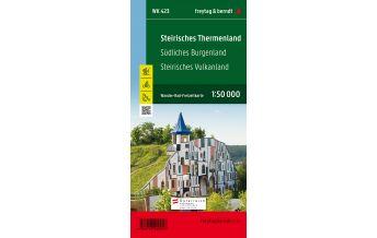 f&b Wanderkarten WK 423 Steirisches Thermenland - Südliches Burgenland - Steirisches Vulkanland, Wanderkarte 1:50.000 Freytag-Berndt und ARTARIA