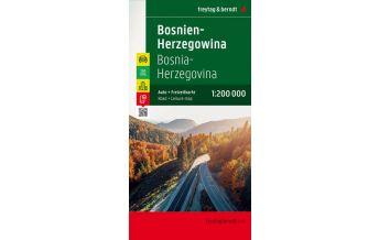 f&b Straßenkarten freytag & berndt Auto + Freizeitkarte, Bosnien-Herzegowina 1:200.000 Top 10 Tips Freytag-Berndt und ARTARIA