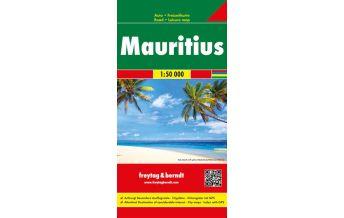 f&b Straßenkarten f&b Autokarte Mauritius 1:50.000 Freytag-Berndt und ARTARIA