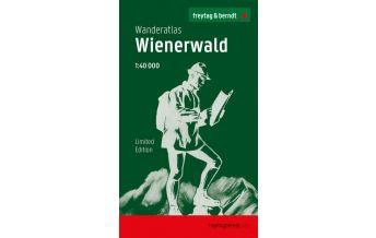 f&b Wanderkarten Wanderatlas Wienerwald 1:40.000 - Jubiläumsausgabe 2020 Freytag-Berndt und ARTARIA