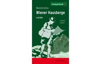 f&b Wanderkarten Wiener Hausberge, Wanderatlas 1:40.000, Jubliäumsausgabe Freytag-Berndt und ARTARIA
