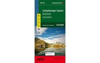 f&b Wanderkarten WK 201 Schladminger Tauern - Radstadt - Dachstein, Wanderkarte 1:50.000 Freytag-Berndt und ARTARIA