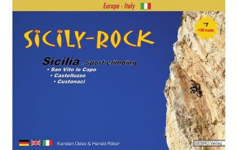 Sportkletterführer Mittel- und Süditalien Sicily-Rock GEBRO Verlag