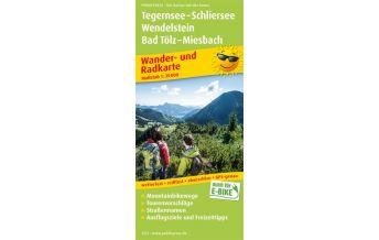f&b Wanderkarten Tegernsee - Schliersee, Wendelstein, Bad Tölz - Miesbach Freytag-Berndt und ARTARIA