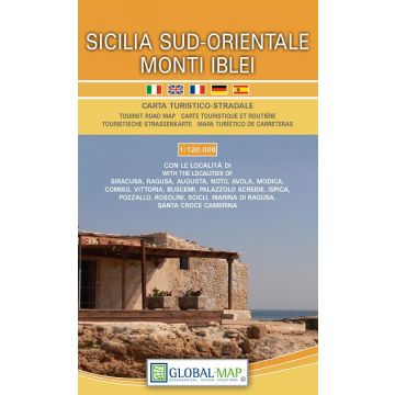 Cartina Geografica Sicilia Sud Orientale.Lac Carta Turistico Stradale Sicilia Sud Orientale Monti Iblei 1 120 000 Freytag Berndt