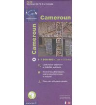 Straßenkarten Cameroun Institut Geographique National