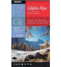 Wanderkarten Slowenien Wanderkarte Julijske Alpe/Julische Alpen 1:50.000 Sidarta