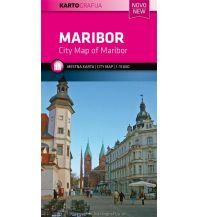 Stadtpläne Stadtplan Maribor/Marburg 1:15.000 Kartografija Slovenia