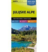 Wanderkarten Slowenien Wander- & MTB-Karte Julijske Alpe/Julische Alpen 1:40.000 Kartografija Slovenia