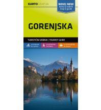Wanderkarten Slowenien Wander- & MTB-Karte Gorenjska/Karawanken 1:40.000 Kartografija Slovenia