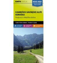 Wanderkarten Kärnten Wander- & MTB-Karte Kamniško-Savinjske Alpe/Steiner Alpen, Koroška/Unterkärnten 1:40.000 Kartografija Slovenia