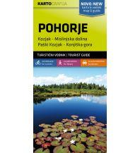 Wanderkarten Slowenien Wander- & MTB-Karte Pohorje/Bachergebirge 1:40.000 Kartografija Slovenia
