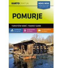 Wanderkarten Slowenien Wander- & MTB-Karte Pomurje 1:40.000 Kartografija Slovenia