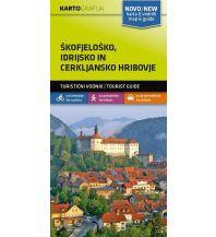 Wanderkarten Slowenien Wander- & MTB-Karte Škofjeloško, Idrijsko in Cerkljansko Hribovje 1:40.000 Kartografija Slovenia