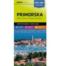 Wanderkarten Slowenien Wander- & MTB-Karte Primorska/Karst 1:40.000 Kartografija Slovenia