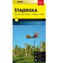 Wanderkarten Slowenien Wanderkarte Štajerska/Untersteiermark 1:50.000 Kartografija Slovenia
