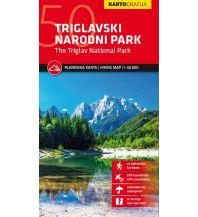 Wanderkarten Slowenien Wanderkarte Triglavski Narodni Park/Triglav-Nationalpark 1:50.000 Kartografija Slovenia