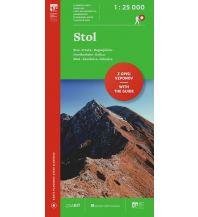 Wanderkarten Kärnten Wanderkarte mit Führer Stol/Hochstuhl 1:25.000 Planinska Zveza Slovenije