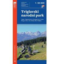 Wanderkarten Slowenien PZS plastifizierte Wanderkarte Triglavski narodni park 1:50.000 Planinska Zveza Slovenije