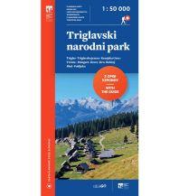 Wanderkarten Slowenien PZS-Wanderkarte Triglavski narodni park 1:50.000 Planinska Zveza Slovenije