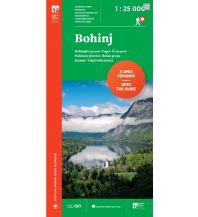 Wanderkarten Slowenien PZS WK Slowenien - Bohinj 1:25.000 Planinska Zveza Slovenije