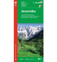 Wanderkarten Kärnten PZS-Wanderkarte Jezersko 1:25.000 Planinska Zveza Slovenije