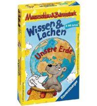 Kinderbücher und Spiele Mauseschlau & Bärenstark (Kinderspiel), Wissen und Lachen - Unsere Erde Ravensburger Spiele