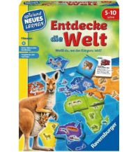 Kinderbücher und Spiele Ravensburger - Entdecke die Welt Ravensburger Spiele