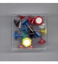 Pins und Fähnchen Indicator-Pins 20 Stk. bunt Albert GmbH & Co