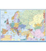 Poster und Wandkarten Europa und der Nahe Osten politisch Stiefel GmbH