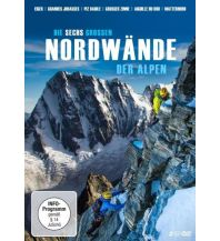 Outdoor Bildbände Die sechs großen Nordwände der Alpen, 2 DVDs KNV