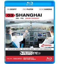 Filme Swiss A340-313 Zürich - Shanghai Pilots Eye