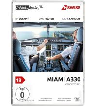 Filme Swiss A330 Zürich - Miami DVD Pilots Eye