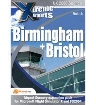 Flugsimulatoren Birmingham & Bristol - Xtreme Airports Vol. 4 Aerosoft GmbH