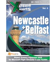 Flugsimulatoren Belfast & Newcastle - Xtreme Airports Vol. 5 Aerosoft GmbH
