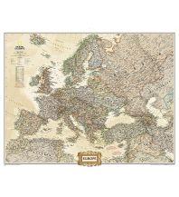 Europa National Geographic Wandkarte Europe political executive laminated 1:2,553.000 National Geographic Society Maps