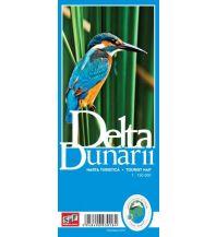 Straßenkarten Rumänien Schubert & Franzke Tourist Map Delta Dunarii/Donaudelta 1:150.000 schubert & franzke Kartographischer Verlag Ges.m.b.H.