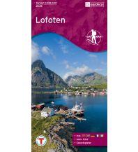 Wanderkarten Skandinavien Turkart 2549, Lofoten 1:100.000 Nordeca AS