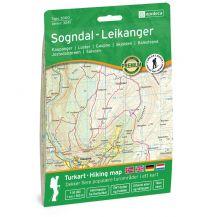 Wanderkarten Skandinavien Nordeca Topo3000 3041, Sogndal-Leikanger 1:50.000 Nordeca AS