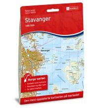 Wanderkarten Skandinavien Norge-serien-Karte 10008, Stavanger 1:50.000 Nordeca AS