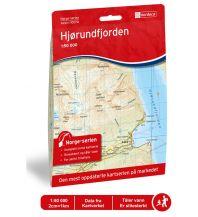 Wanderkarten Skandinavien Norge-serien-Karte 10070, Hjørundfjorden 1:50.000 Nordeca AS