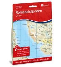 Wanderkarten Skandinavien Norge-serien-Karte 10077, Romsdalsfjorden 1:50.000 Nordeca AS