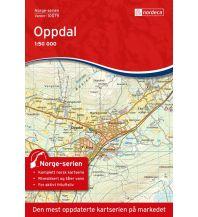 Wanderkarten Skandinavien Norge-serien-Karte 10079, Oppdal 1:50.000 Nordeca AS
