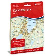 Wanderkarten Skandinavien Norge-serien-Karte 10089, Kyrksæterøra 1:50.000 Nordeca AS