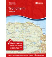 Wanderkarten Skandinavien Norge-serien-Karte 10090, Trondheim 1:50.000 Nordeca AS