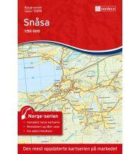 Wanderkarten Skandinavien Norge-serien-Karte 10099, Snåsa 1:50.000 Nordeca AS