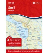 Wanderkarten Skandinavien Norge-serien-Karte 10100, Sørli 1:50.000 Nordeca AS