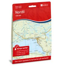 Wanderkarten Skandinavien Norge-serien-Karte 10104, Nordli 1:50.000 Nordeca AS