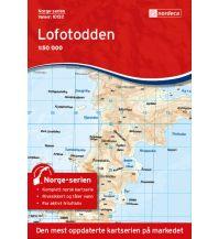 Wanderkarten Skandinavien Norge-serien-Karte 10132, Lofotodden 1:50.000 Nordeca AS